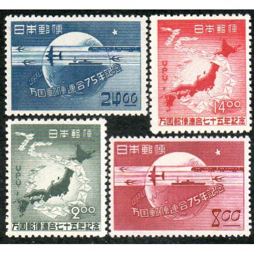 1949 75th ANNIVERSARY OF THE UNIVERSAL POSTAL UNION (UPU).